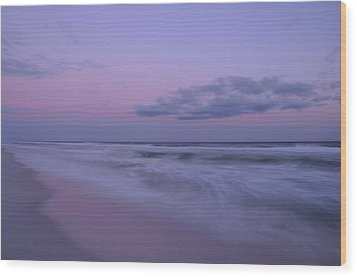 Wood Print featuring the photograph Summer Sunset by Renee Hardison