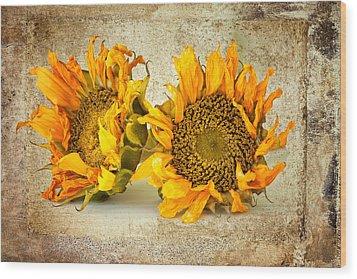 Sunflowers No 413 Wood Print