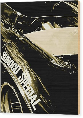 Wood Print featuring the photograph Sunoco Spl by Michael Nowotny