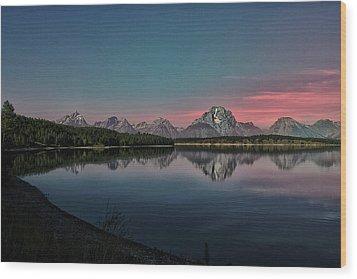 Sunrise At Lake Wood Print by Gemma