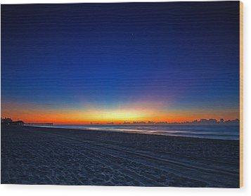 Sunrise At The Beach IIi Wood Print