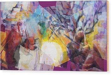 Sunrise In Havana Wood Print by J Christian Sajous