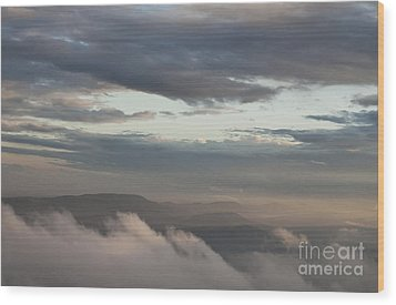Wood Print featuring the photograph Sunrise In The Mountains by Jeannette Hunt