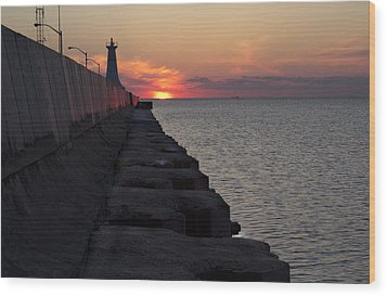Wood Print featuring the photograph Sunrise by Nick Mares