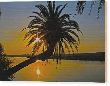 Wood Print featuring the photograph Sunrise On The Loop by Alice Gipson