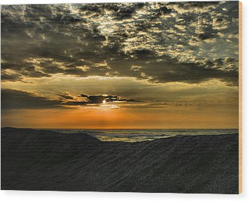 Sunrise Over Assateague II Wood Print by Steven Ainsworth