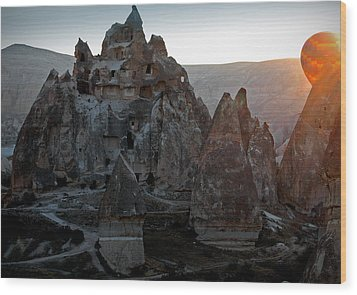 Sunrise Over Cappadocia Wood Print by RicardMN Photography