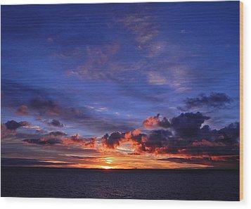 Sunrise Over Western Australia I I I Wood Print by Kirsten Giving