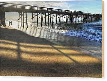 Sunrise Trestle Wood Print