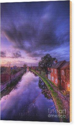 Sunset At Loughborough Wood Print by Yhun Suarez