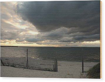 Sunset Bay 52 Wood Print by Joyce StJames