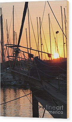 Sunset Escape Wood Print