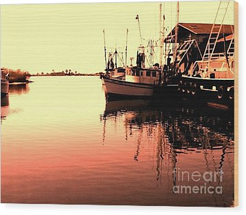 Wood Print featuring the photograph Sunset by Janice Spivey