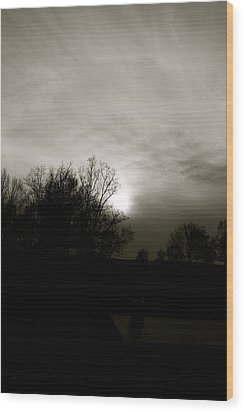 Wood Print featuring the photograph Sunset by Kume Bryant