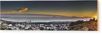Sunset Ventura Ca Wood Print by Joe  Palermo
