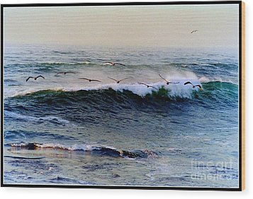 Wood Print featuring the photograph Sunset Watch  by Kathy Bassett