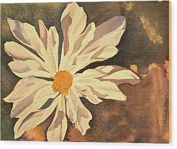 Wood Print featuring the painting Sunshine by Teresa Beyer