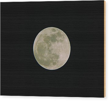 Wood Print featuring the photograph Super Moon May 5  2012 by Brian Wright
