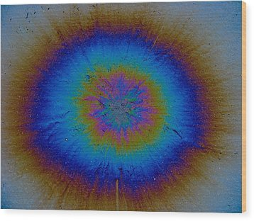 Wood Print featuring the photograph Supernova by Samuel Sheats