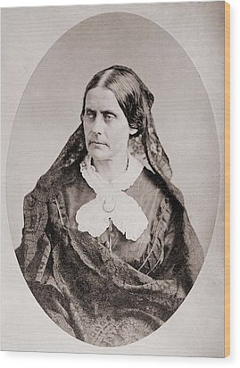 Susan B. Anthony 1820 �1906, American Wood Print by Everett