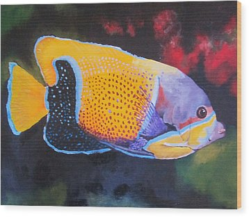 Sutton Fish Wood Print by Terry Gill