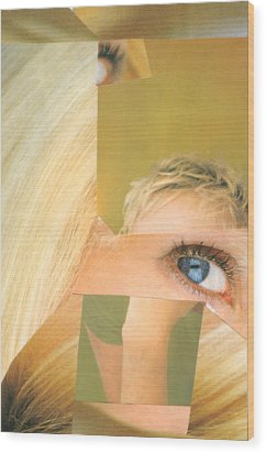 Swedish Thing Wood Print by Michal Rezanka