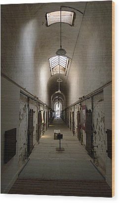 Wood Print featuring the photograph Sweet Home Penitentiary II by Richard Reeve