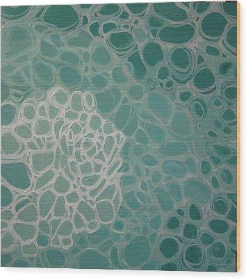 Swimming Pool Filter IIi Wood Print by Valentine Estabrook