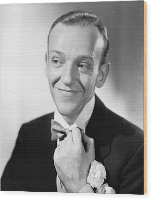 Swing Time, Fred Astaire, 1936 Wood Print by Everett