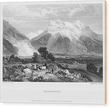 Switzerland: Grindenwald Wood Print by Granger