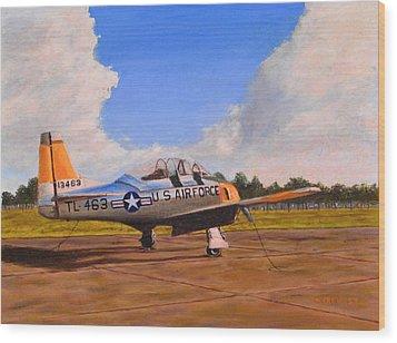 T 28 At Spence Ab Georgia Wood Print