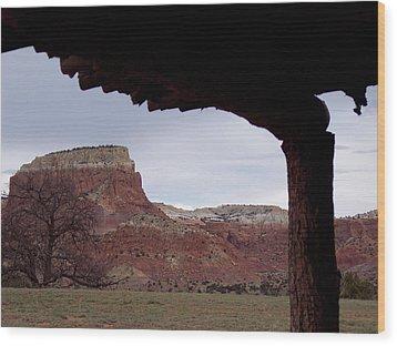 Table Mesa At Ghost Ranch Wood Print