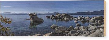 Tahoe Clarity Wood Print by Brad Scott