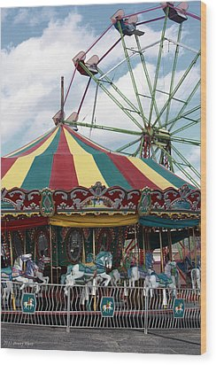 Take Me To The Fair Wood Print by Penny Hunt