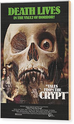 Tales From The Crypt, On Left From Top Wood Print by Everett