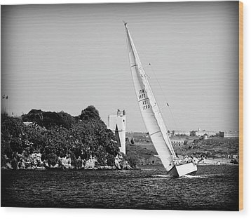 Wood Print featuring the photograph Tall Ship Race 1 by Pedro Cardona