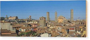 Taly, Emilia-romagna, Bologna, Cityscape Wood Print by Bruno Morandi