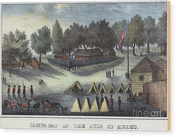 Tampa Bay - Fort Brooke Wood Print by Granger