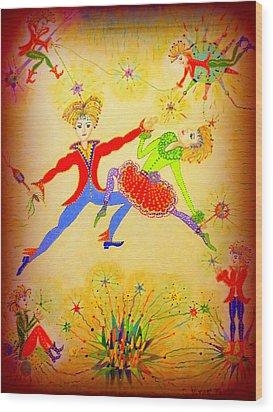 Tango-argentina Wood Print