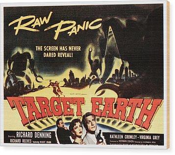 Target Earth, Bottom Center Kathleen Wood Print by Everett