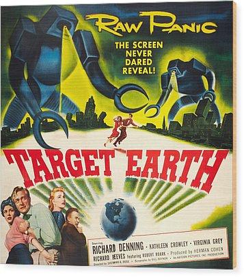 Target Earth, Bottom Left Kathleen Wood Print by Everett