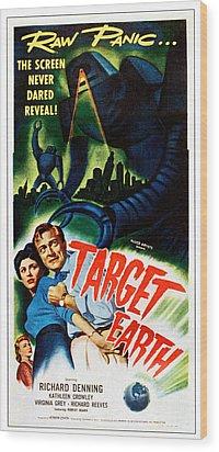 Target Earth,  From Left Kathleen Wood Print by Everett