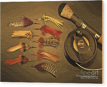 Tarpon Arsenal Wood Print by Alex Suescun