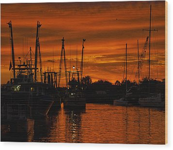 Tarpon Springs Wood Print