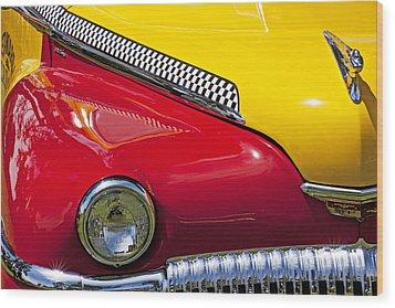 Taxi De Soto Wood Print by Garry Gay