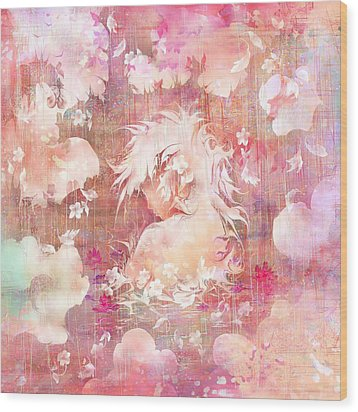 Tears Of The Rain Wood Print by Rachel Christine Nowicki