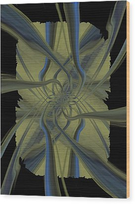 Tendrils Wood Print by Tim Allen