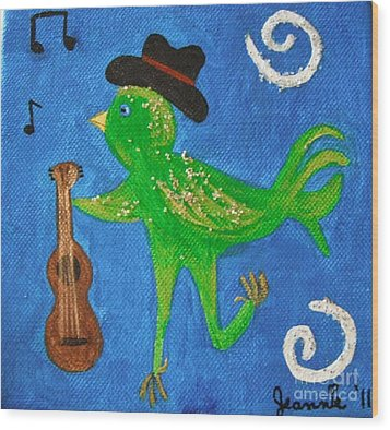 Tennessee Birdwalk Wood Print by Jeannie Atwater Jordan Allen
