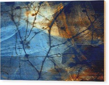 Texture 7 Wood Print by Joseph Ferguson