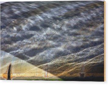 Thames Reflections Wood Print by KG Thienemann